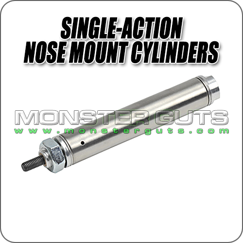 Single-Action Nose Mount Cylinders