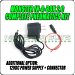 Additional Option: 12VDC Power Supply + Connector