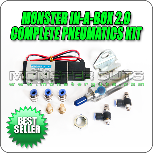 Monster In-A-Box 2.0 - Pneumatics Kit