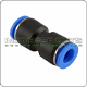 """Straight Union Connector Tube OD 1/4"""" Quick Release Fitting"""
