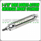 "1-1/16"" Bore Double-Action Universal Mount Cylinder"