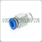"Male Connector Tube OD 1/4"" Quick Release Fitting"