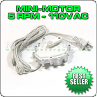Mini-Motor 5RPM - 110VAC