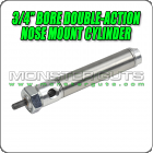 "3/4"" Bore Double-Action Nose Mount Cylinder"