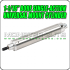 "1-1/16"" Bore Single-Action Universal Mount Cylinder"