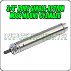 "3/4"" Bore Single-Action Nose Mount Cylinder"