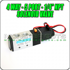 4-Way 5 Port Pneumatic Solenoid Valve