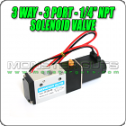 3-Way 3 Port Pneumatic Solenoid Valve