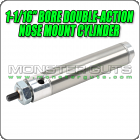 "1-1/16"" Bore Double-Action Nose Mount Cylinder"