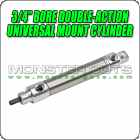 "3/4"" Bore Double-Action Universal Mount Cylinder"