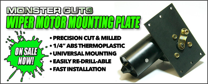 Monster Guts: Wiper Motor Mounting Plate