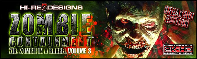 Zombie Containment: ZIB Volume 3 - Breakout Edition