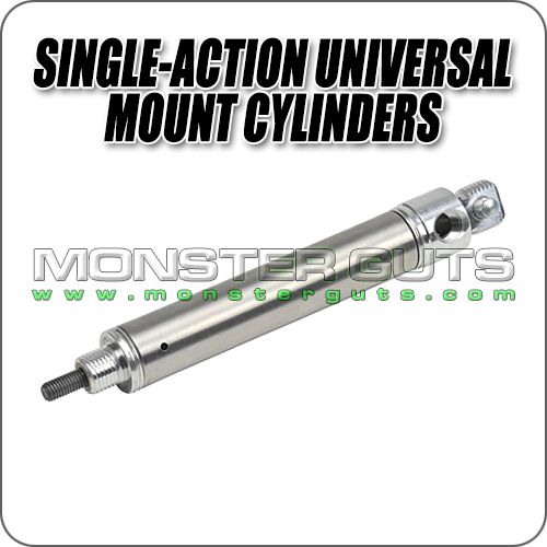 Single-Action Universal Mount Cylinders