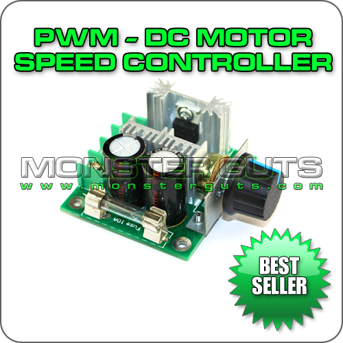 Monster Guts, LLC  :: Electric Motors :: PWM DC Motor Speed Controller