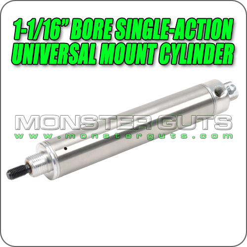 """1-1/16"""" Bore Single-Action Universal Mount Cylinder"""