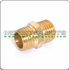 1/4 in. x 1/4 in. Male Brass Pipe Coupling