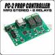PC-2 MP3 Sound 2-Relay Prop Controller