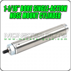 "1-1/16"" Bore Single-Action Nose Mount Cylinder"