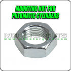 Mounting Nut for Pneumatic Cylinders