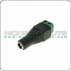 2.1mm x 5.5mm Female Power Jack Adapter